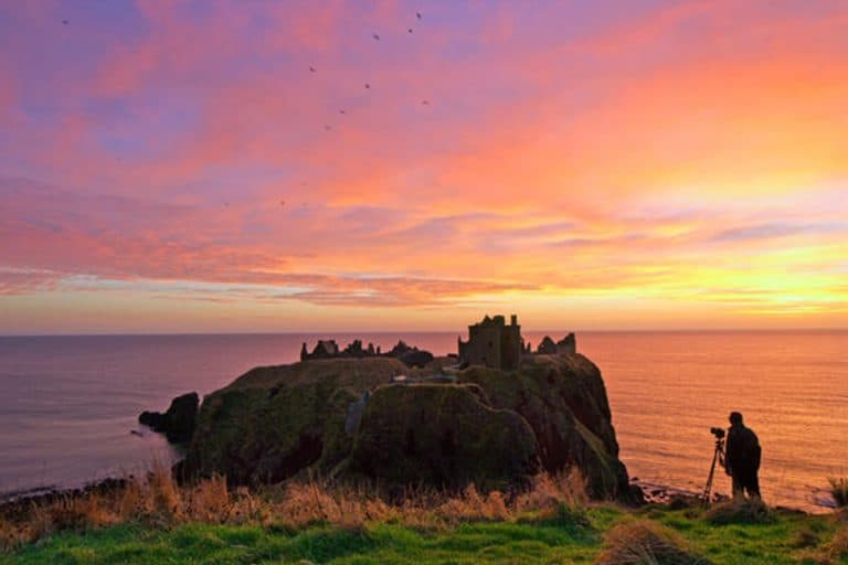Dunnottar Castle   Royal Deeside   Aberdeenshire   Scotland