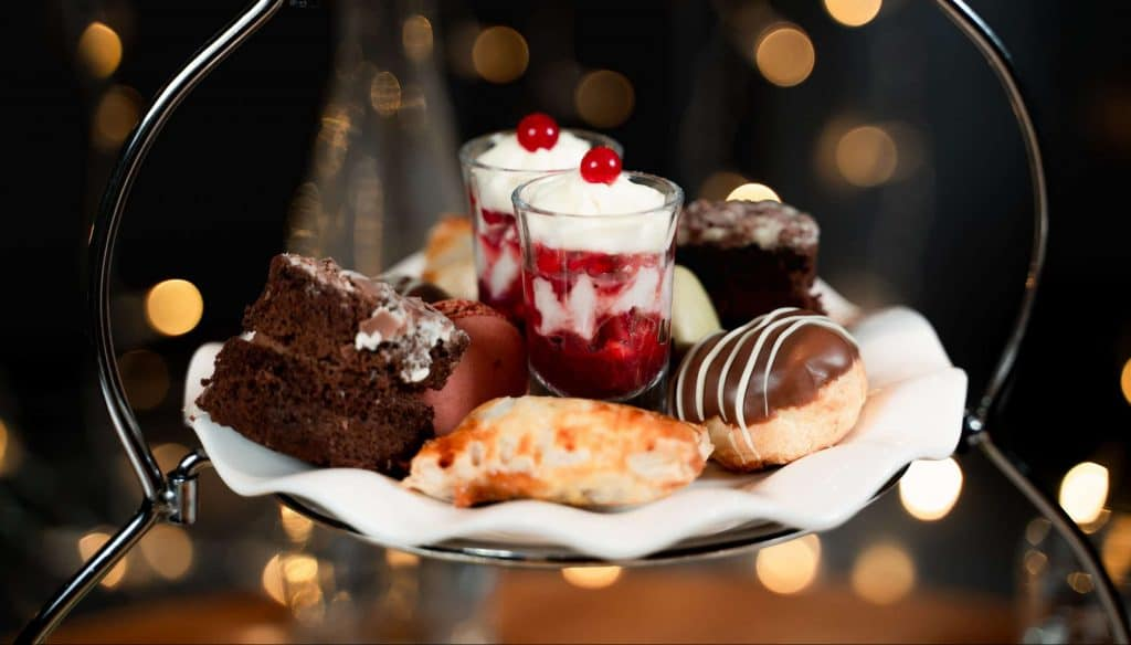 Fabulous afternoon tea in Mollys Bistro at Aberdeen Douglas Hotel | Independent Hotel | Scotland