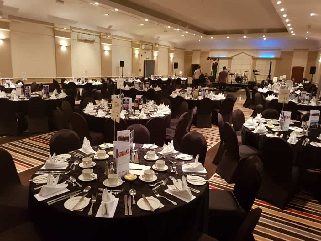 Sporting Events & Dinners   Football Dinners   Rugby Dinners   Aberdeen Douglas Hotel