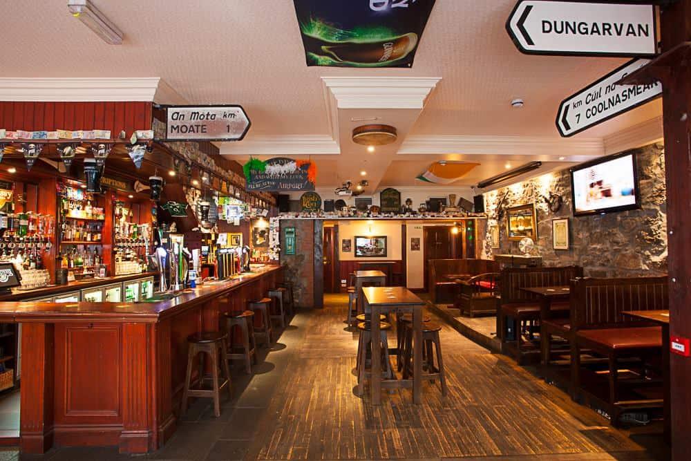 Malone's Irish Bar   Live Sports and Music   Aberdeen