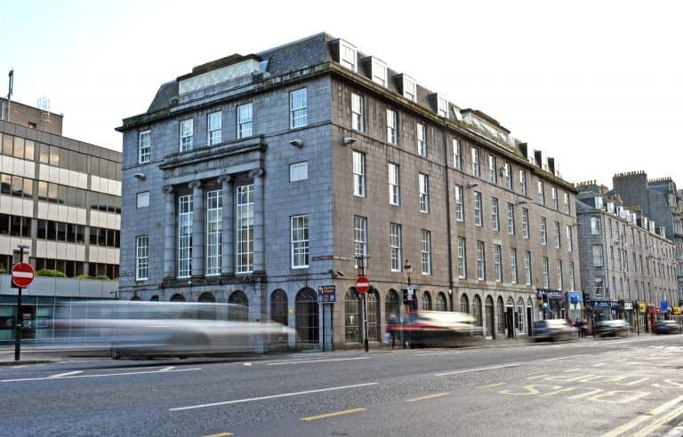 Luxury apartments in Aberdeen on Union Street