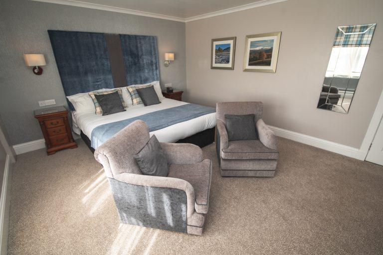 Luxury Bedroom in Aberdeen City Center | Aberdeen Douglas Hotel