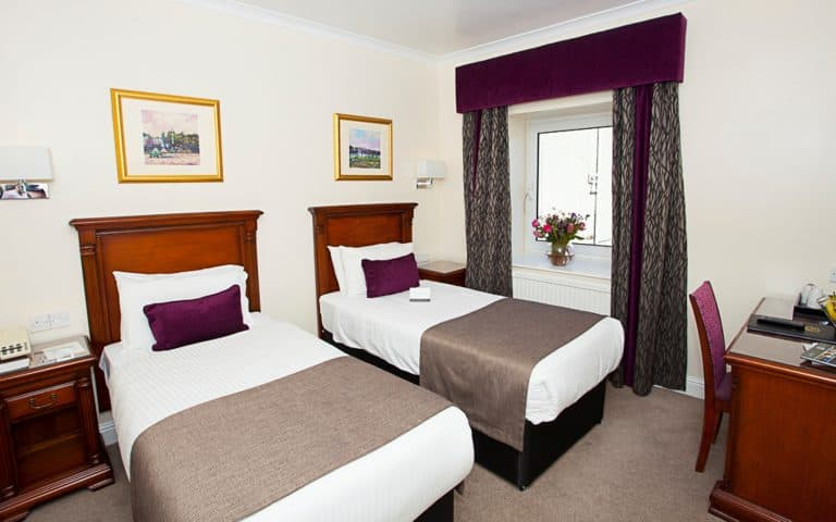 Classic Twin Room | Aberdeen Douglas Hotel | Independent Hotel | Scotland