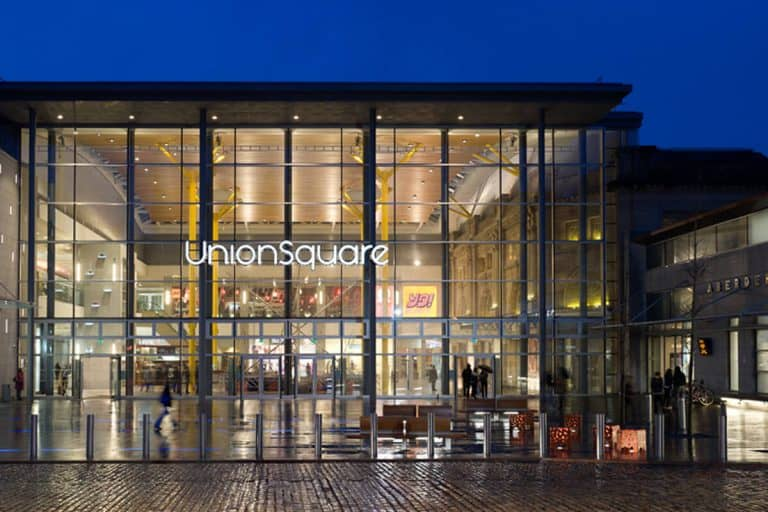Union Square Shopping Centre   Aberdeen Douglas Hotel   Scotland