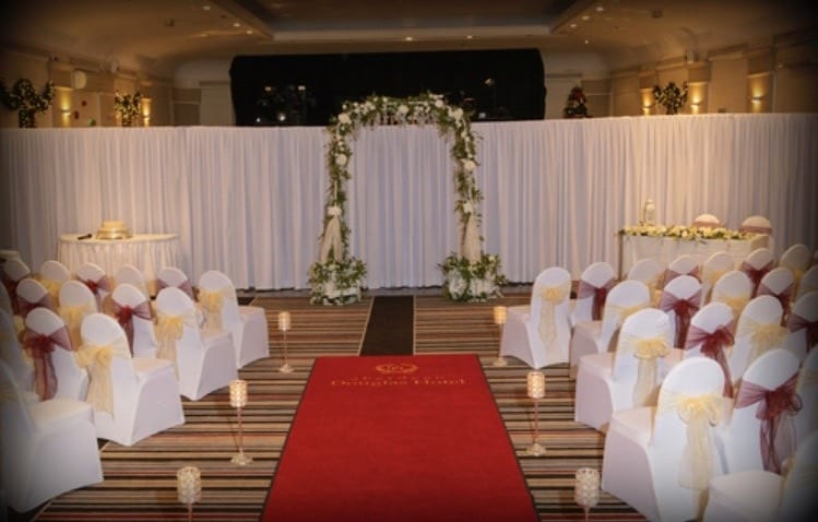 Wedding Ceremony at Aberdeen Douglas Hotel | Wedding Venue | Aberdeen