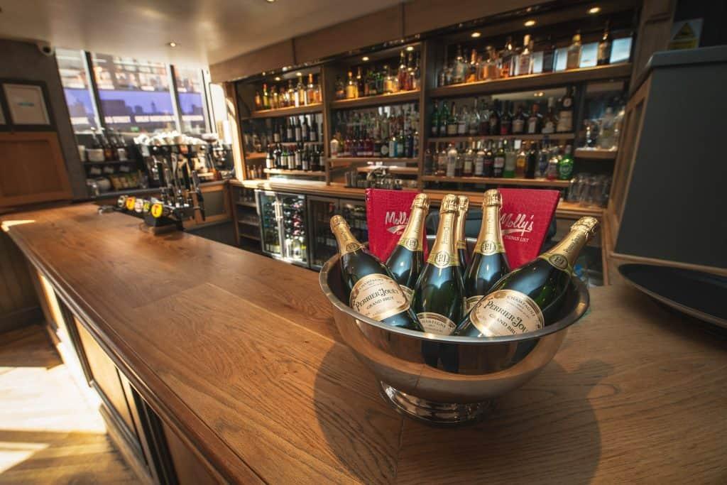Bar at Molly's Bistro | Aberdeen Douglas Hotel | Independent Hotel | Scotland